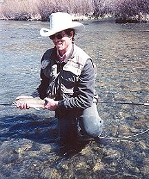 Mark Scritchfield Fishing the White River